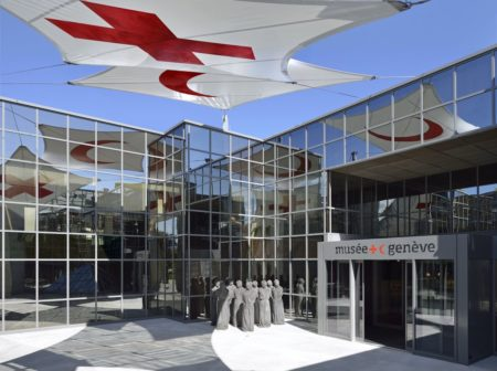 Image result for ICRC museum geneva images""